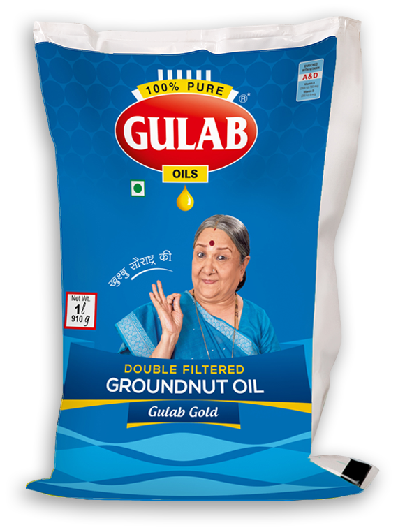 Groundnut Oil 1L Pouch